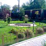 Фото с участка перед домом