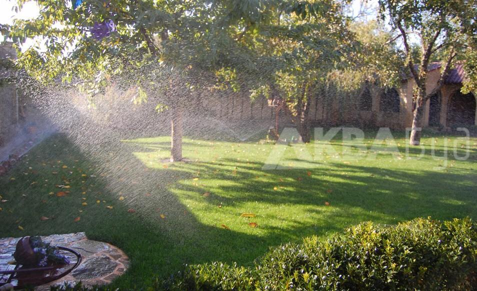 Автоматический полив для сада