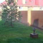 Автополив газона на небольшом склоне