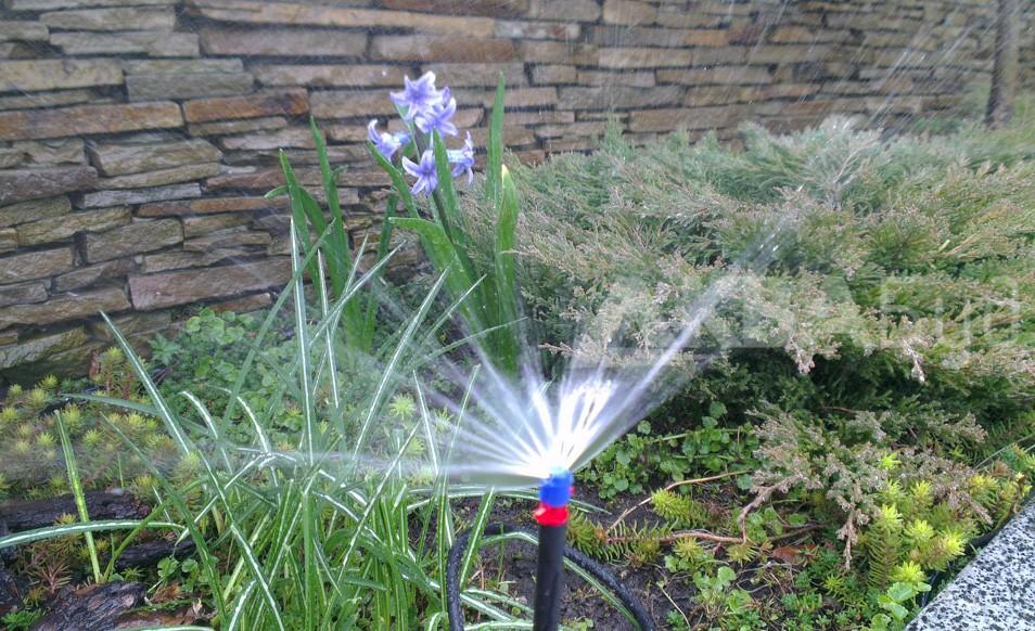 Микроороситель для полива клумб