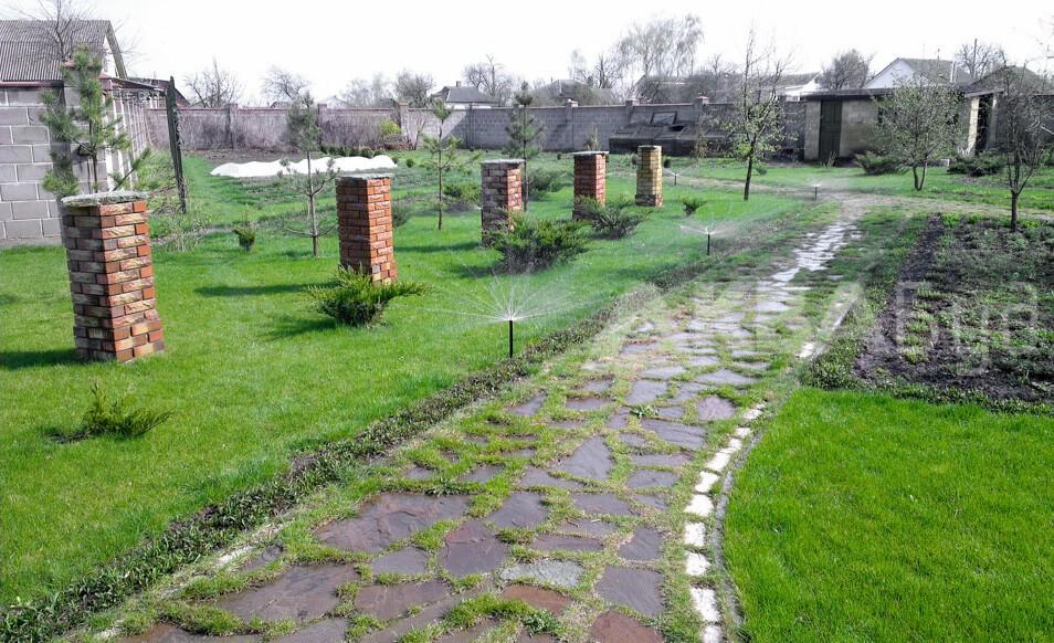 Фото система Автоматического полива газона и растений в Чернигове