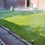 Система автоматического полива спреями