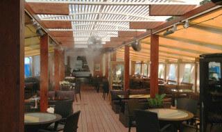 Система охлаждения туманом для летних площадок