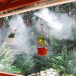 Охлаждение туманом террас и летних площадок