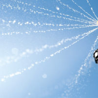 Форсунка rain bird r-van 17-24 на фоне неба