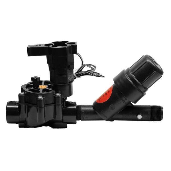 Клапан и фильтр для капельного полива