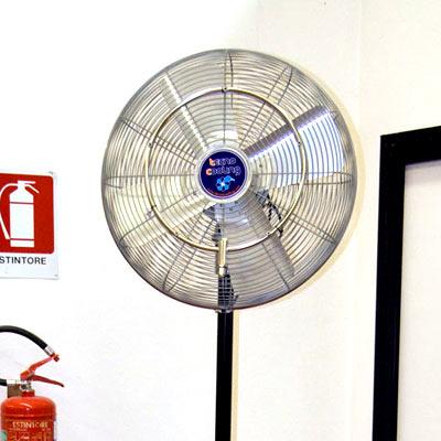 Вентилятор для систем туманообразования высокого давления