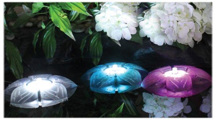 Подводная подсветка Sicce Flower LED Trio