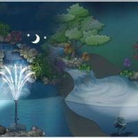 Подводное освещение для прудов и фонтанов sicce