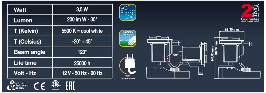 Технические характеристики Sicce Nathur LED