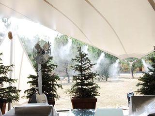 Услуги по проектированию и монтажу системы туманообразования