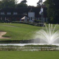 Аэрационный фонтан для водоема Equinox от компании Otterbine