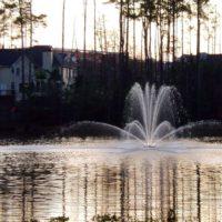 Аэрационный фонтан для водоема Genesis от компании Otterbine