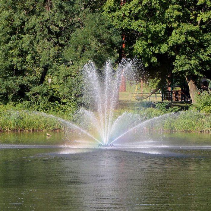 Аэрационный фонтан Genesis от компании Otterbine