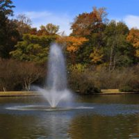 Аэрационный фонтан для водоема Phoenix от компании Otterbine
