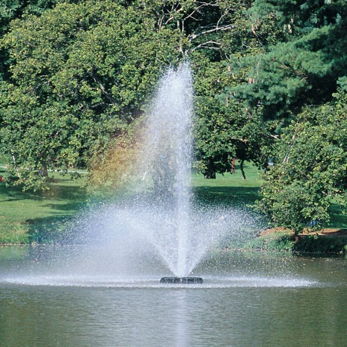 Аэрационный плавающий фонтан Phoenix от компании Otterbine