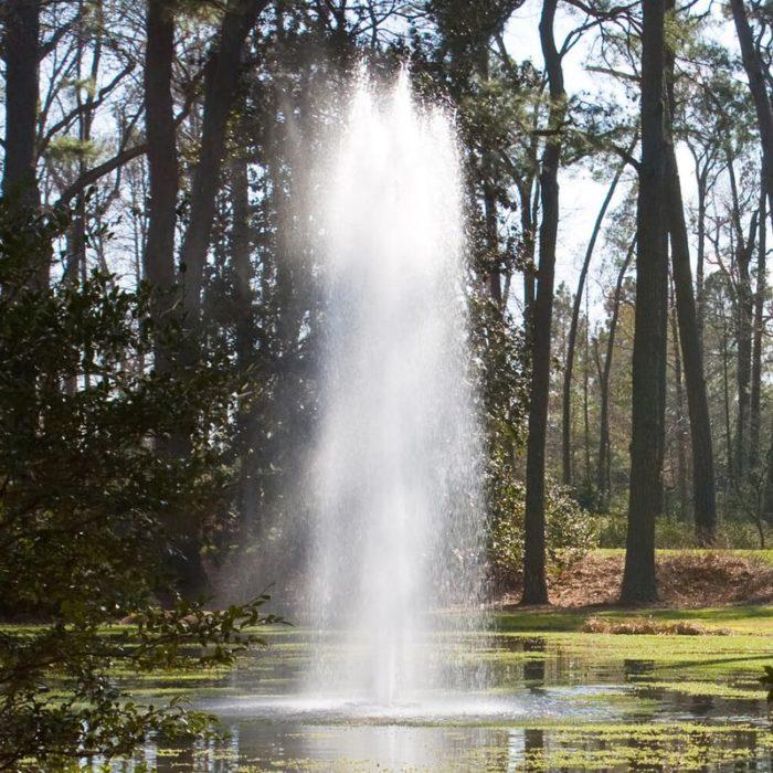 Высокий Аэрационный фонтан Rocket от компании Otterbine