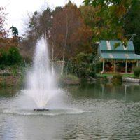 Аэрационный фонтан водоема Tristar от компании Otterbine