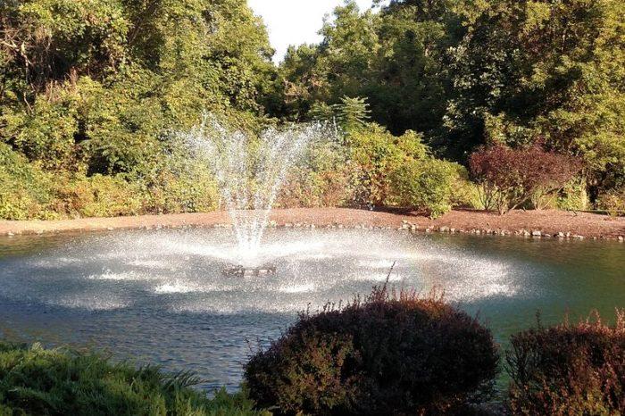 Аэрационный фонтан constellation для искусственных водоемов от Otterbine