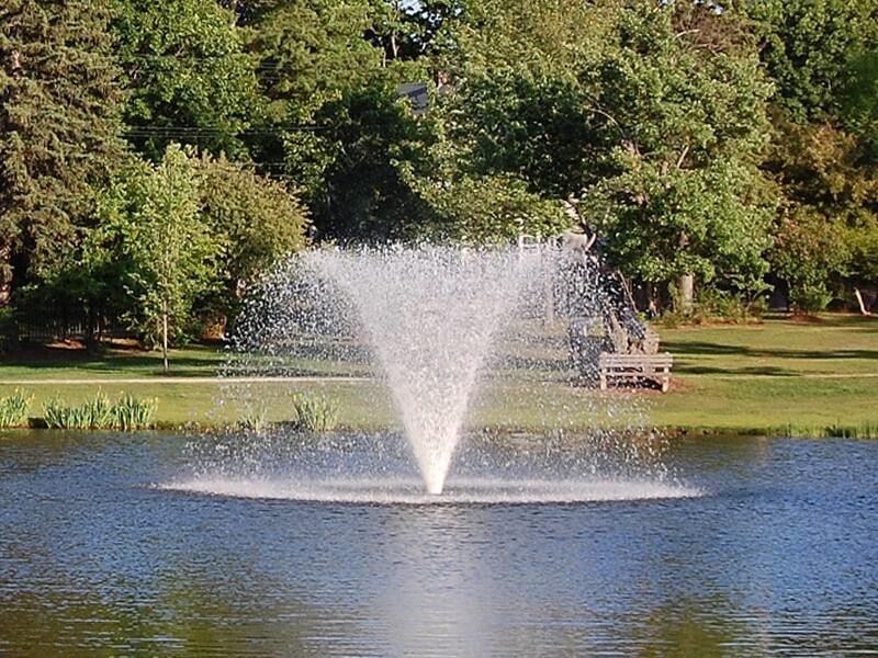Аэрационные фонтан gemini от компании Otterbine