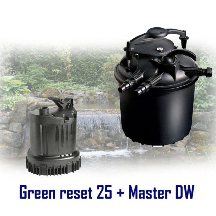 комплект насос Sicce DW 4000 + фильтр Sicce Green Reset 25