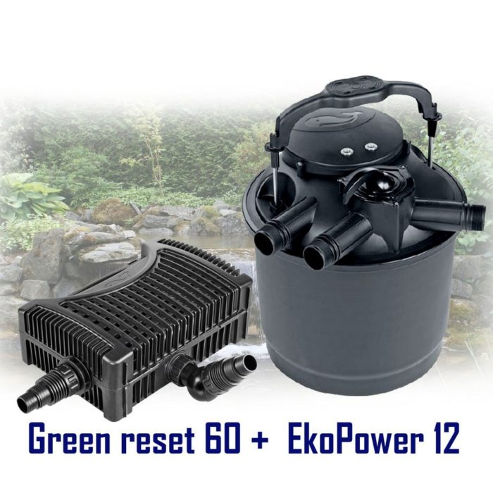 комплект насос Sicce Eko Power 12 + фильтр Sicce Green Reset 60
