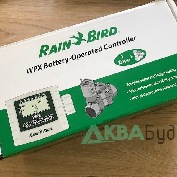 Контроллер от батарейки для полива Rain Bird WXP-DV-Kit 9V