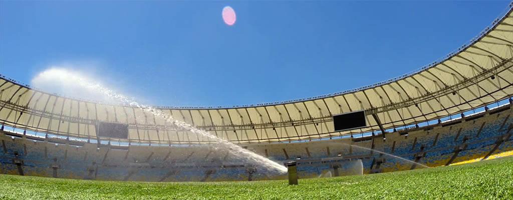 Фото полив спортивных площадок